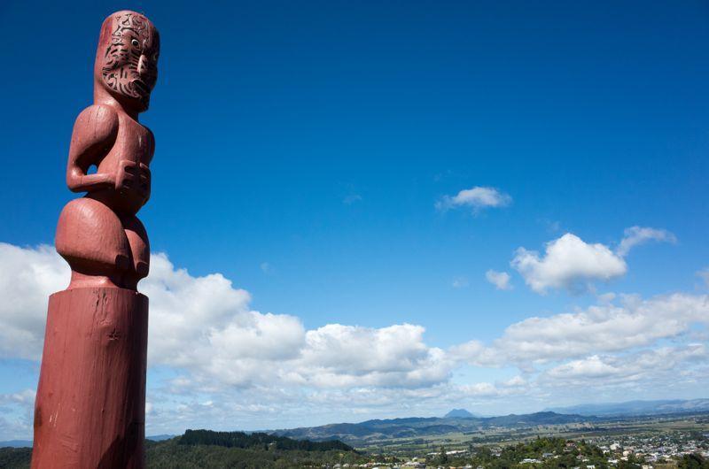 Und am nächsten Morgen ging es aufs Land hinaus, in die Weite und in die Welt der Maori
