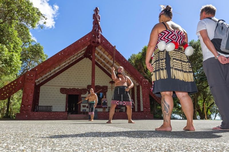 Powhiri in Waitangi