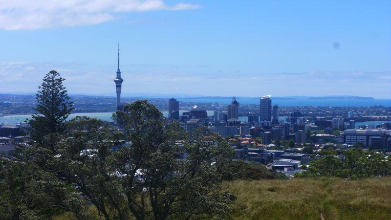 Auckland ist eine sehr grüne City