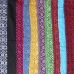 Rebosos (Wolltücher) aus Mexiko