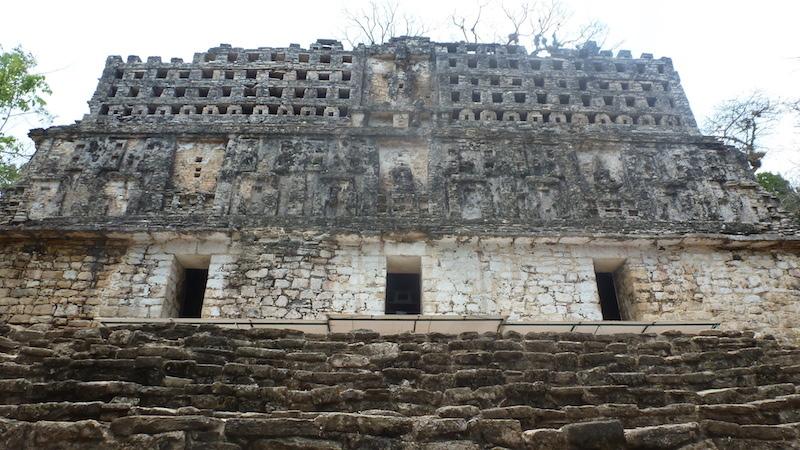 Tempel in Yaxchilan