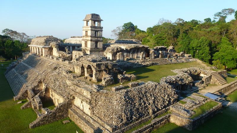 "Der ""Palacio"" von Palenque"