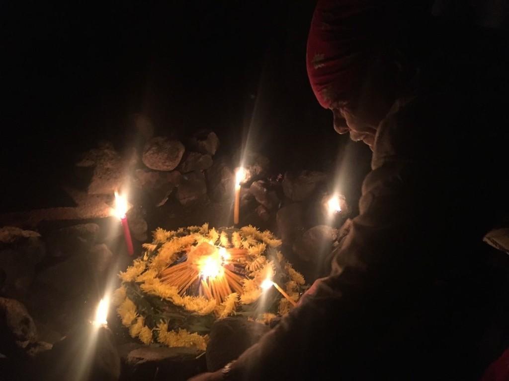 Nacht-Ritual mit Tata Juan