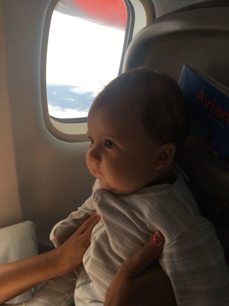 Auch im Flieger ist Māui cool