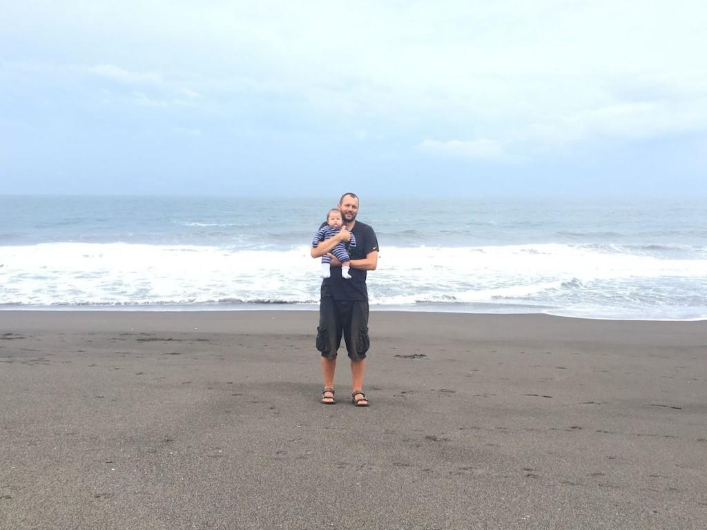 Am großen Pazifik in Monterrico
