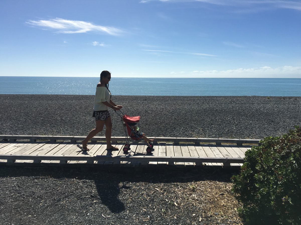 Strandspaziergänge