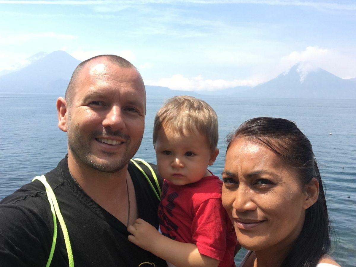 Endlich wieder am schönen Atitlán See