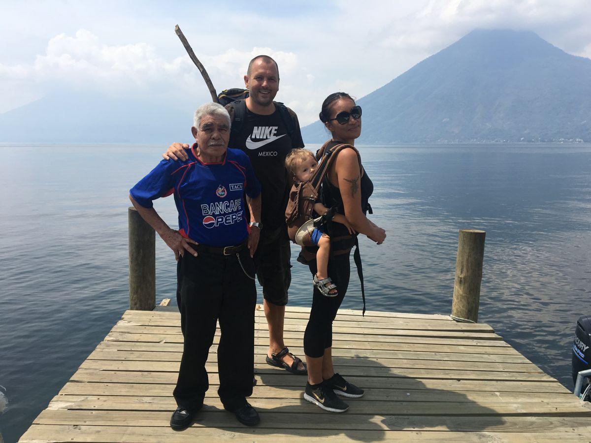 Besuch von Tata Juan