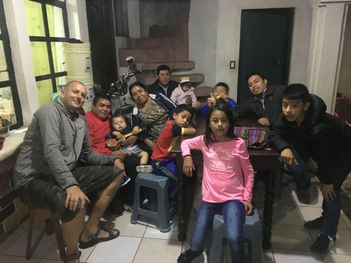 mit Marios Familie