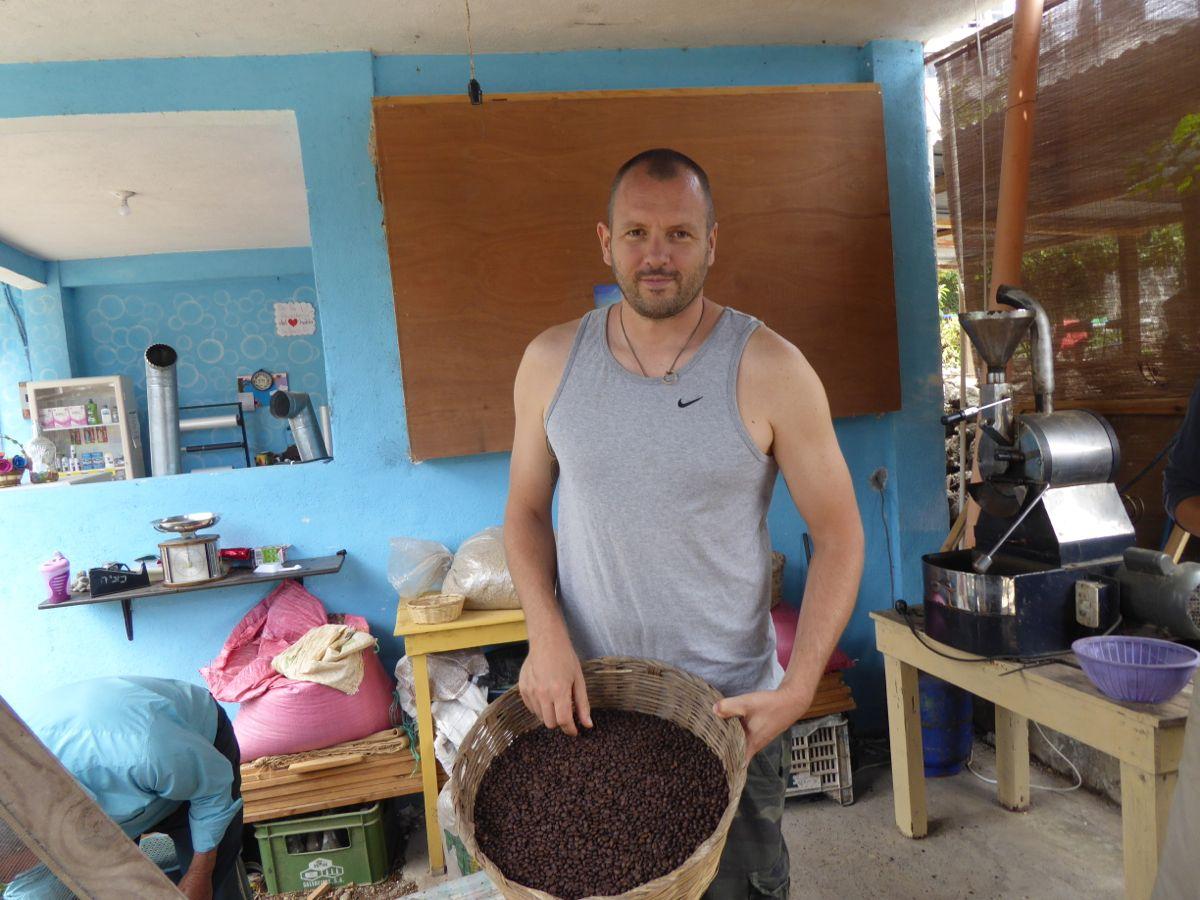 frisch gerösteter Kaffee für uns