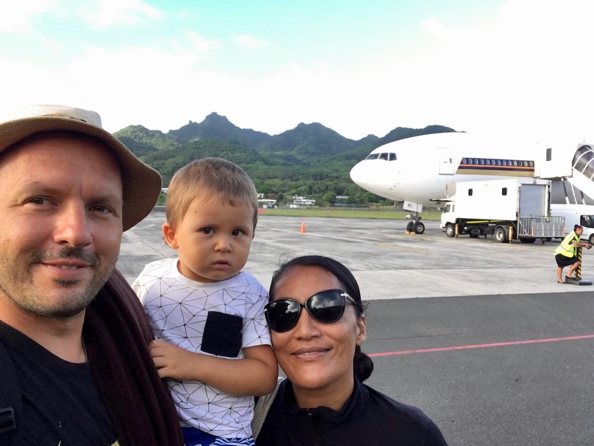 Vor dem Heimflug, Māui scheint es schon geahnt zu haben und wir wären auch noch gerne geblieben